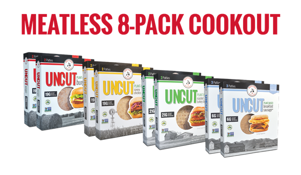 Meatless 8-Pack Cookout