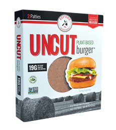 UNCUT Plant-Based Burger, 8 oz